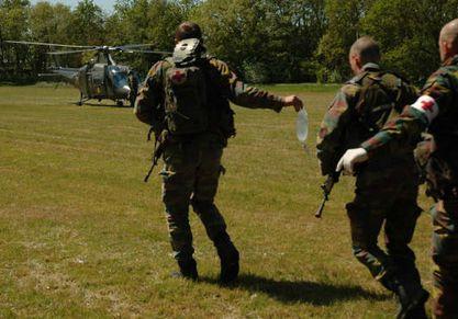 Fin de l'exercice d'évacuation (NEO) aux Pays-Bas