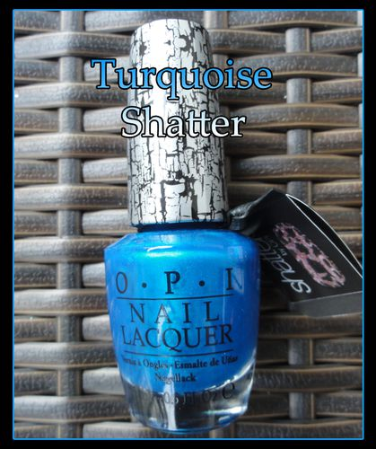 OPI Turquoise Shatter