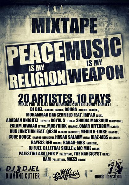 Peace Is My Religion, Music Is My Weapon MixTape: 20 Artistes