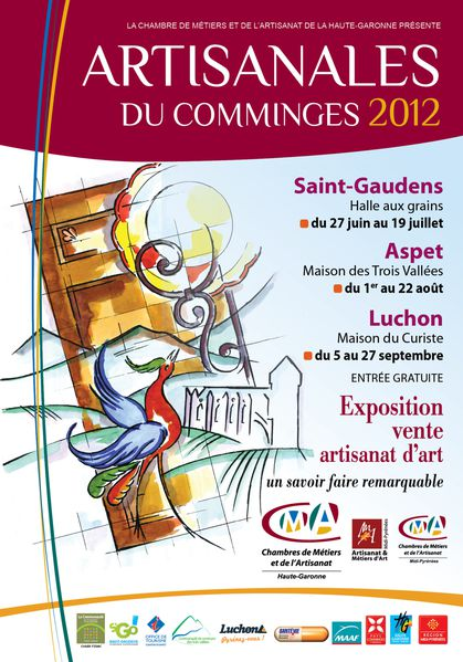 artisanales du comminges 2012