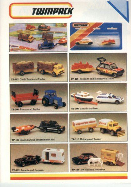 catalogue matchbox 1986 p11