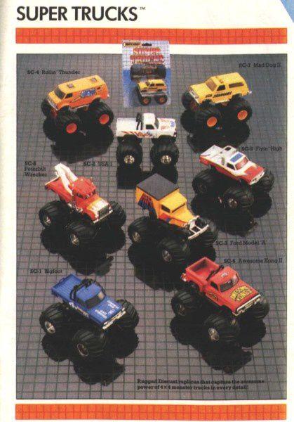 catalogue matchbox 1987 p22 big foot matchbox
