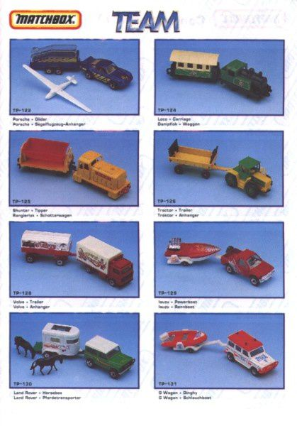 catalogue matchbox annee 1992 s07