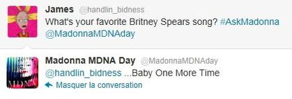 Madonna on Twitter on Tarantino, Justin Bieber, MDNA and a lot more!