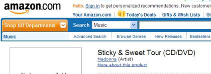 Madonna's Sticky & Sweet Tour coming on CD-DVD