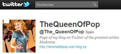 TheQueenOfPop follows 'Madonna Fans' World' on Twitter