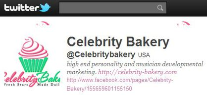 Celebrity Bakery follows 'Madonna Fans' World' on Twitter