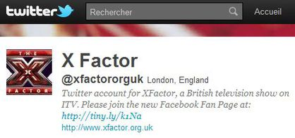 X Factor follows 'Madonna Fans' World' on Twitter