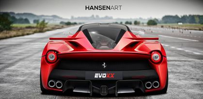 LaFerrari en mode EVOXX 2