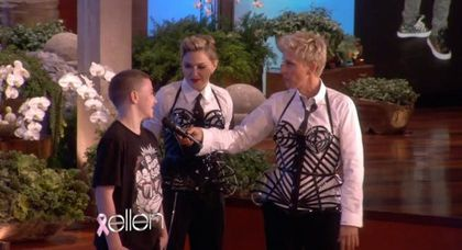 Video: Exclusive preview of Madonna at 'The Ellen Show' to air on October 29, 2012