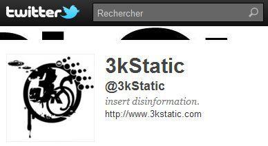 3kStatic follows 'Madonna Fans' World' on Twitter