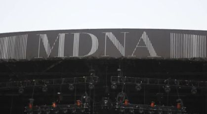 Madonna - MDNA Tour: Stage - Final Setup in Abu Dhabi (video)