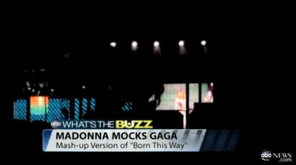 Madonna - MDNA Tour: Madonna Causing A Commotion