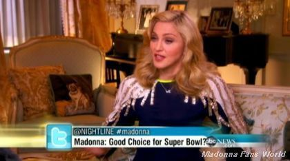 ABC interview: Madonna Talks Family and Super Bowl
