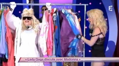 TV: Watch ''Lady Gaga discute avec Madonna'' by Julie Villers - FRANCE 2
