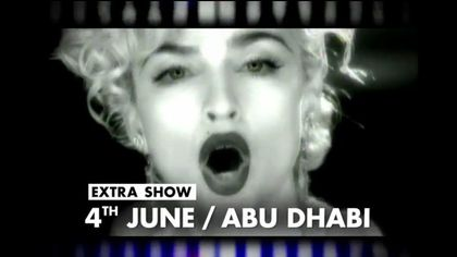 Madonna - MDNA Tour: Fans unite in Abu Dhabi to see Madonna