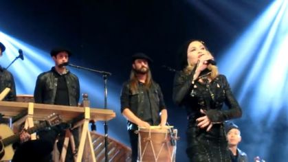 Madonna - MDNA Tour at L'Olympia: Video - Madonna answers Marine Le Pen and praises France - FULL Speech