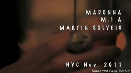Video: Official MDNA Teaser by Madonna