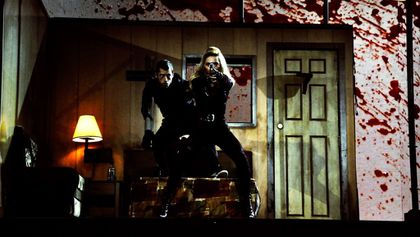 Madonna causes controversy with stage gun stunt