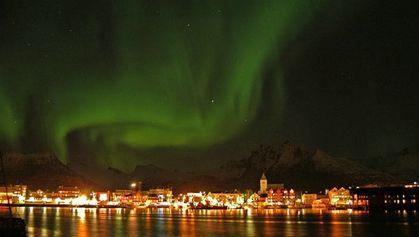 Northern lights Svolvaer 1