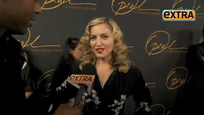Madonna at Oprah Winfrey's Final Show: TV interviews