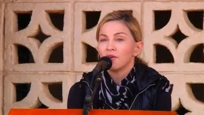 Video: Madonna visits Malawi