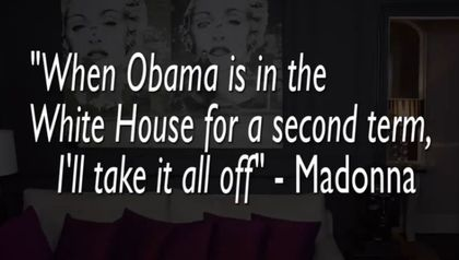 CharlieHidesTV: Watch ''Madonna Strips for Obama''