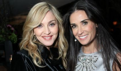 Madonna expresses that she is 'there for' Demi Moore