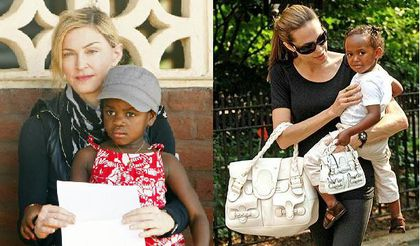 adoption-Madonna et Angelina Jolie