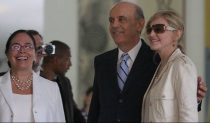 José Serra to open a place for a school for Madonna's ONG