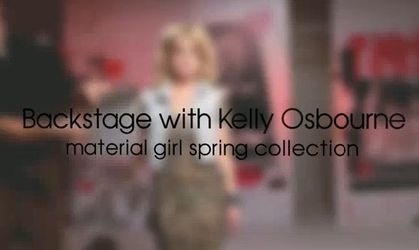 Macy's Backstage Pass: Kelly Osbourne for Material Girl