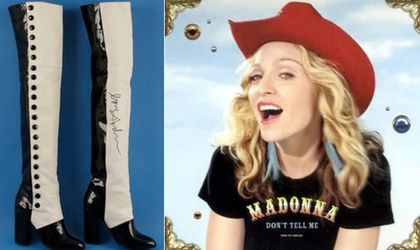 Madonna Donates Boots To LaGuardia High School Auction