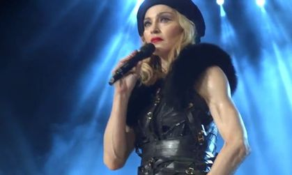 Madonna - MDNA Tour: VIDEO - Speech for Peace - Tel Aviv, Israel - May 31, 2012