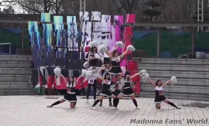 Korean Madonna Fans celebrate the release of MDNA