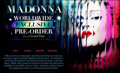 Madonna - ''MDNA'' Album: Exclusive Pre-Order on iTunes