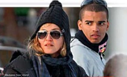 Madonna and Brahim on the cover of ''Blick'' - Dec. 29, 2011