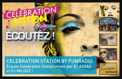 Listen to Celebration Station by Fun Radio