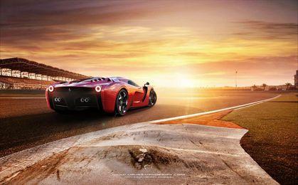 2014 Ferrari Project F Concept 3