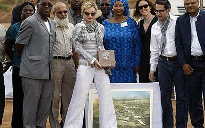 The press on Madonna not building school in Malawi