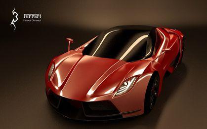 Ferrari feroce concept 2013