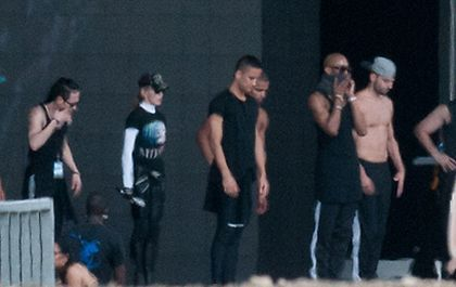 Madonna - MDNA Tour: Second rehearsals at Ramat Gan stadium