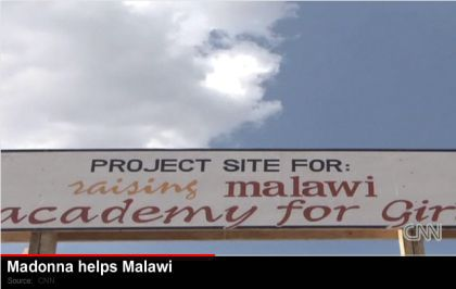 Madonna's school coming up fast in Malawi