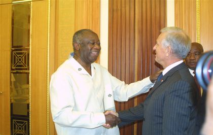 Gbagbo Michel Roussin groupe Bolloré dr www.legrigriinternational.com
