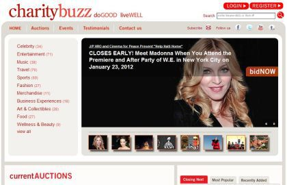 Bid to meet Madonna at the NY Premiere of ''W.E.'' on January 23, 2012