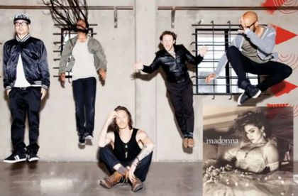 Cover: Madonna - ''Like A Virgin'' by Incubus
