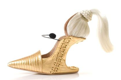 Madonna-Inspired Shoe Is Blond AND Ambitious