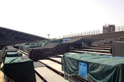 Madonna - MDNA Tour: Abu Dhabi stage already built!