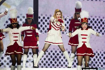 Madonna - MDNA Tour: Press photos from the show in Oslo, Norway - August 15, 2012