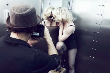 Dolce&Gabbana for Madonna: More MDG Sunglasses Backstage Photos