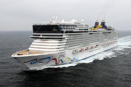 Norwegian Epic, Norwegian Cruise Line's new ship
